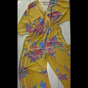 Flying Tomato jumpsuit Size MED NWT
